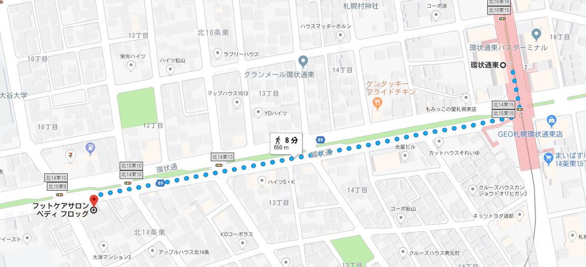 MAP_環状通東駅から